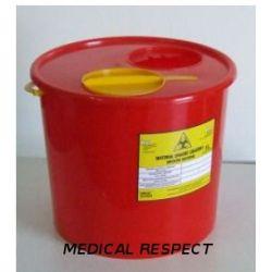Pojemnik na odpady medyczne 5,0l