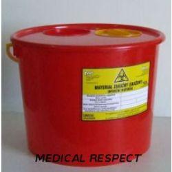 Pojemnik na odpady medyczne 10,0l