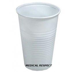 Kubki plastikowe białe 200ml a 100szt.