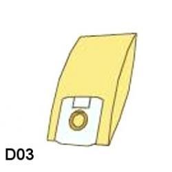 Worki do odkurzaczy DAEWOO - D03
