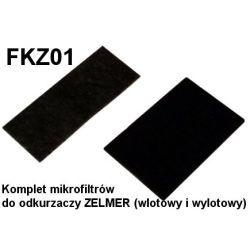 Komplet mikrofiltrów FKZ01 do odkurzaczy odkurzacza ZELMER