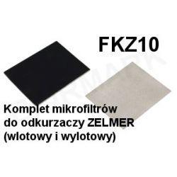 Komplet mikrofiltrów FKZ10 do odkurzaczy odkurzacza ZELMER