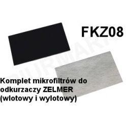 Komplet mikrofiltrów FKZ08 do odkurzaczy odkurzacza ZELMER