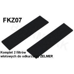 Komplet mikrofiltrów FKZ07 do odkurzaczy odkurzacza ZELMER