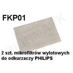 Komplet mikrofiltrów FKP01 do odkurzaczy odkurzacza PHILIPS