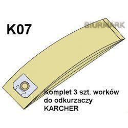 Worki K07 do odkurzaczy odkurzacza KARCHER ECO