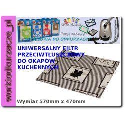 Filtr przeciwtłuszczowy do okapu [IZ-FT1]