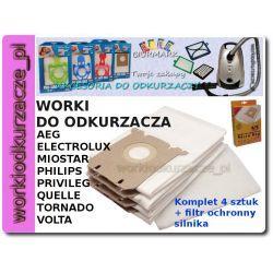 Worki Micro Bag do odkurzacza Electrolux Philips AEG[WP7470]