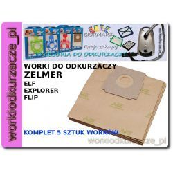 Worki do odkurzacza ZELMER FLIP ELF 321, 322 - ZA05