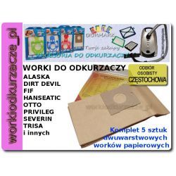 WORKI DO ODKURZACZA DAEWOO DIRT DEVIL ALASKA [FR2550]