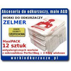 Worki syntetyczne ZELMER 12szt.+3F Jupiter Magnat Solaris Twix [ZMB03K]