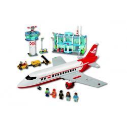 Klocki Lego City - Lotnisko + Samolot