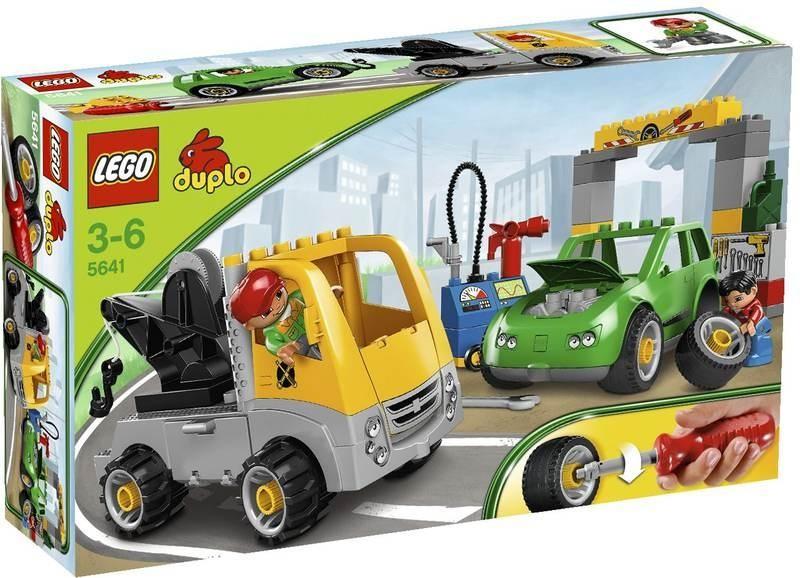 Klocki Lego Duplo Warsztat Samochodowy Na Bazarekpl