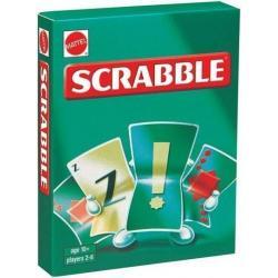 Karty Scrabble - Gry dla Dzieci Mattel