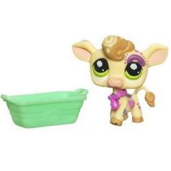 Littlest Pet Shop - Zwierzak z Pocztówką - Krówka