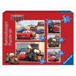 Puzzle Ravensburger - Auta 5w1