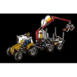 Klocki Lego TECHNIC - TRAKTOR Z ŁADOWARKĄ