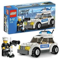 Klocki Lego City - RADIOWÓZ POLICYJNY