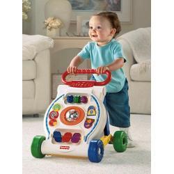 Chodzik Pchacz - Interaktywna zabawka Fisher Price - 2w1