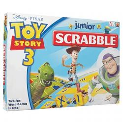 Gry - SCRABBLE JR TOY STORY POLAND R3085