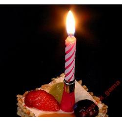 Urodziny* Świeczka grająca* tort impreza party