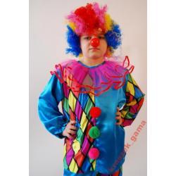 *GAMA* Strój Klaun, Clown 134 stroje karnawałowe