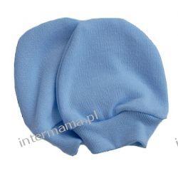 Niedrapki błękitne dla noworodka Odzież