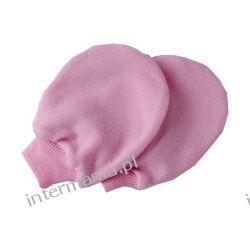 Niedrapki różowe dla noworodka  Odzież