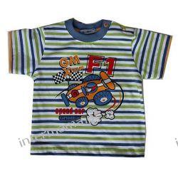 Bluzeczka FORMULA 1, kr. rękaw r.74 Odzież