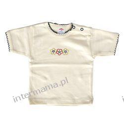 Bluzeczka GIRL ecru kr. rękaw r.74 Odzież
