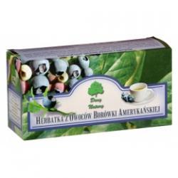 herbatka z owoców BORÓWKI AMERYKAŃSKIEJ