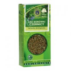 LIŚĆ BORÓWKI CZERNICY herbatka ekologiczna