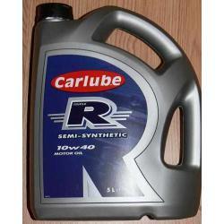 Olej silnikowy CARLUBE 10W40  5l