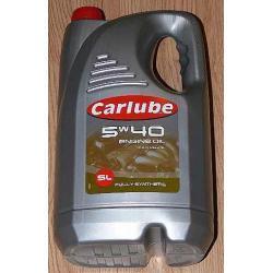 Olej silnikowy CARLUBE 5W40  5l