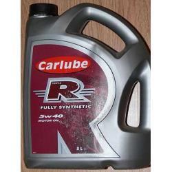 Olej silnikowy CARLUBE 5W40 R  5l