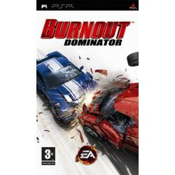 Gra PSP Burnout Dominator Platinium