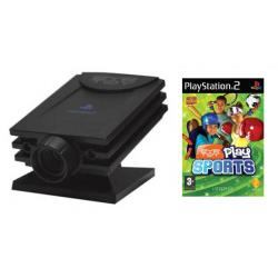 Gra PS2 Eye Toy Play Sports + kamera