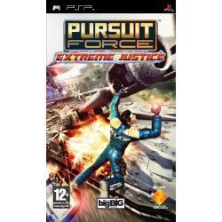 Gra PSP Pursuit Force: Extreme Justice