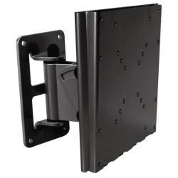 Uchylny uchwyt ścienny dl TV od 10 do 37 LCD-201B (czarny)