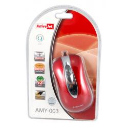 ActiveJet Mysz optyczna AMY-003 USB-POZŁACANE STYKI