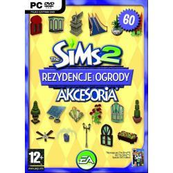 Gra PC The Sims 2: Rezydencje i ogrody (akcesoria)