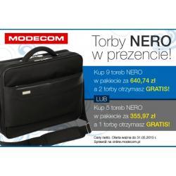 PAKIET PROMOCYJNY: Torby MODECOM NERO 9 sztuk+2gratis