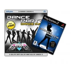 PS2 Mata Dance Party +Gra PS2 Dance Party Club Hits