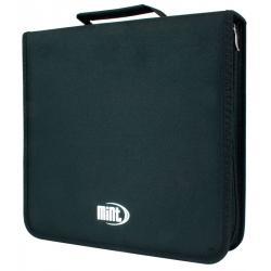 ETUI MINT na 168 płyt CD/DVD Nylon-Czarne