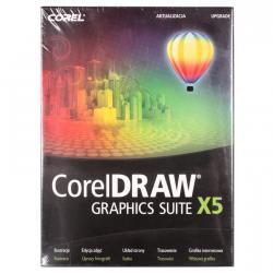 COREL DRAW Graphics Suite X5 Upgrade Czech/Polish
