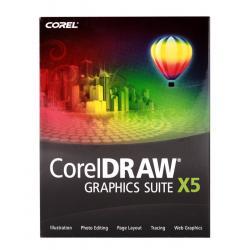 COREL DRAW Grap.SuiteX5 PL + słownik USB Ang-Pol.