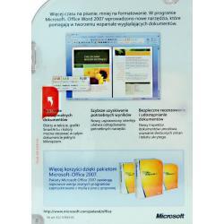 MS Word 2007 Win32 PL CD (BOX)