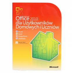 MS Office 2010 dla Użytk. Domowych i Uczniów (BOX)