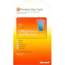 MS Office 2010 dla Użytk.Domowych i Małych Firm (KARTA PKC) wer. ANGIELSKA