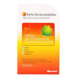 MS Office 2010 dla Użytk. Dom.i Uczniów PL (PKC)